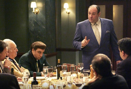 James Gandolfini will always be at the head of the table.