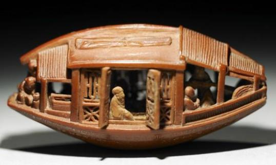 And how many weeks did it take to carve this olive pit?